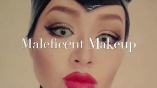 Maleficent makeup マレフィセントメイク