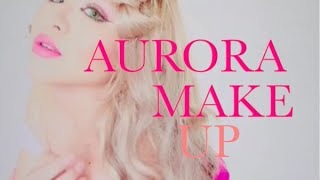 オーロラ姫メイクAURORA MAKE UP DISNEY PRINCESS