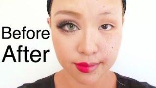 毎日メイクを半顔メイク | The power of make up