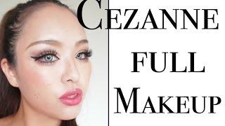 セザンヌでフルメイク|CEZANNE FULL MAKEUP