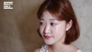 韓国のしっとり水光肌ナチュラルオルチャンメイク
