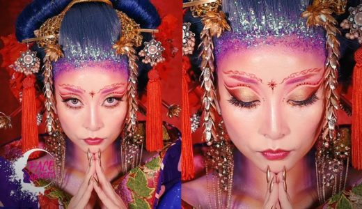 女帝メイク・Asian Empress Look [Eng Subs] |ROYALTY|FACE Awards Japan TOP6 Challenge