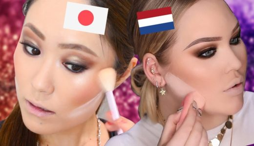 【激変】外国の大人気YouTuberのメイクを真似してみたら外国人の顔になれるのか!?【Nikkie Tutorials】