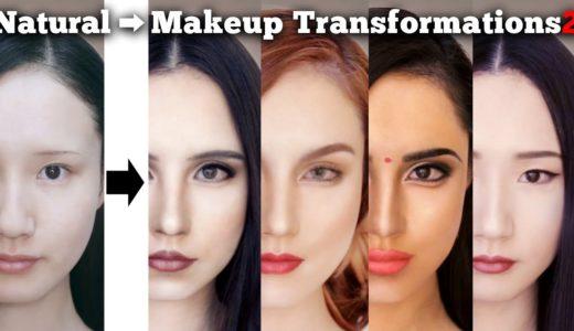 Makeup transformations into beautiful women in their twenties around the world 2 | AmaterasuEVE