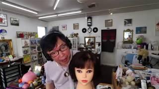 【音フェチ】ヘアカット 耳かき メイクロールプレイ【ASMR】hair cut Ear Cleaning  makeup role play
