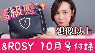 【雑誌付録】&ROSY(アンドロージー)10月号付録メイクボックス