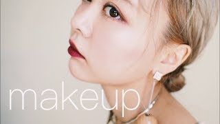 【GRWMメイク記録0807】久しぶりのコスメでメイク🌹makeup tutorial
