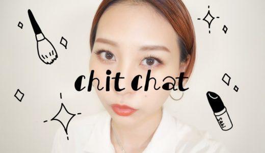 【chitchat】出社前のゆる〜いメイク!WHOMEEのアイブロウブラシめっちゃ使いやすい!
