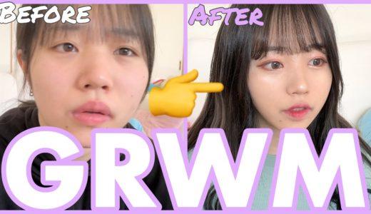 【GRWM】みんなぁ〜あぽたんと一緒にメイクしょ〜???💜💛🧡💙【Get Ready With Me】【PKA】