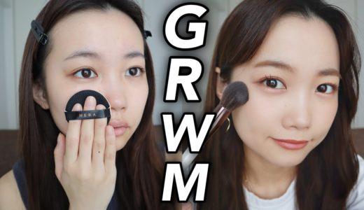 【雑談メイク】おうち時間GRWM!脱毛事情について朝の準備をしながら語ります。
