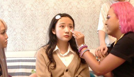 渋谷にいる一番可愛い女子高生にガングロギャルメイクしたら可愛くなるのか?
