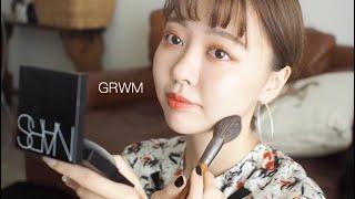 【GRWMメイク記録0915】rom&nd/NARS/最近の感動アイテム紹介しながら雑談メイク!